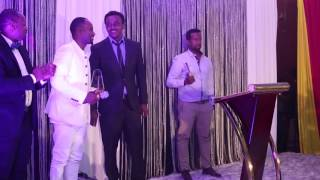 "Sami Dan ""Best Album"" acceptance speech at Addis Music Awards"