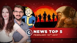 Call of Duty 2017 Announced & Major Fallout 4 Update Arrives! - GS News top 5