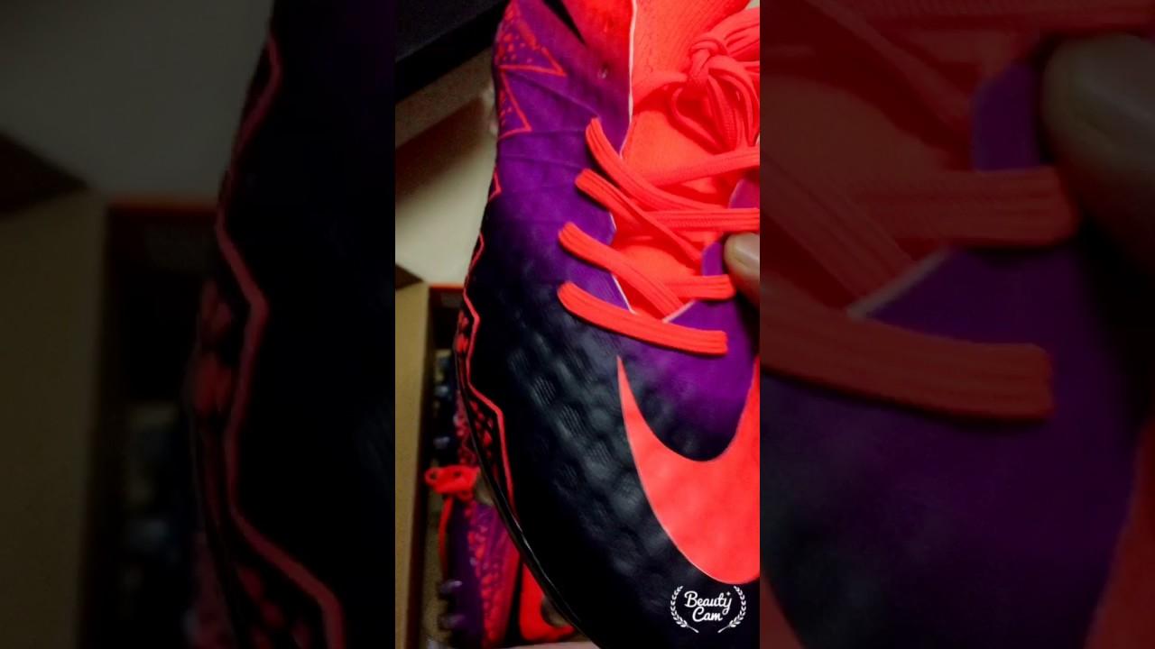 e49f7bb70 2016 Review Unboxing Nike Hypervenom Phantom II FG - Total Crimson/Obsidian/Vivid  Purple