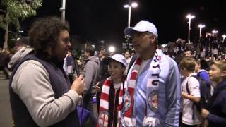 Fan Reactions | Melbourne City 2 Newcastle Jets 1