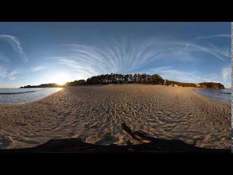 DaVinciResolveの無料部分だけで、360度動画のスタート地点を変更する