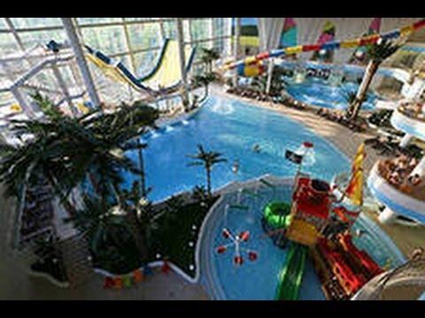 МОРЕОН: видео обзор самого большого аквапарка Москвы.