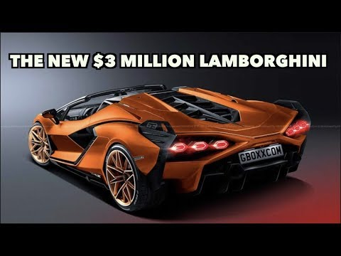 MEET THE CRAZY $3 MILLION LAMBORGHINI SIAN THAT WAS BUILT WITH MIT!