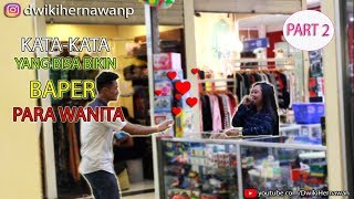 LUCU BANGET NGELIAT REAKSI WANITA DIGOMBALIN HAHAHA - Prank Indonesia PART 2