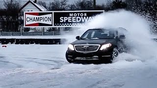 Can You Drift A Mercedes S-Class?