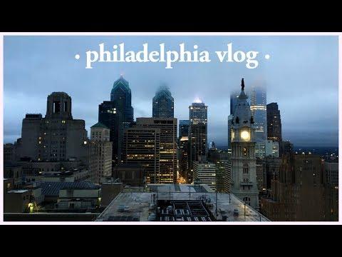 Trip to Philadelphia Vlog Pt. 1