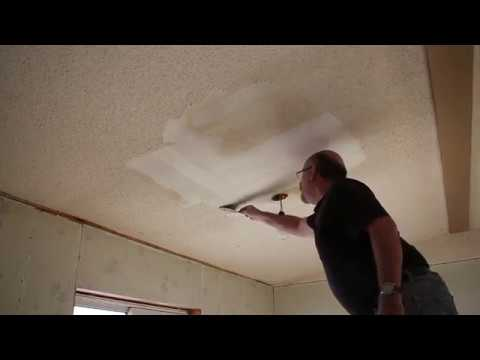 """""""POPCORN"""" Ceiling Texture - How To Get Rid Of It : E009 / BC Renovation Magazine"""