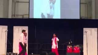 Indian dance at Mennonite World Conference Global Village
