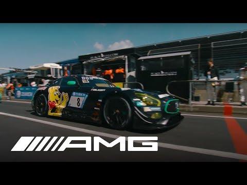 24h Nürburgring 2017 Mercedes-AMG Motorsport Training Autogrammstunde