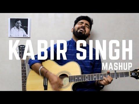 Kabir Singh Mashup (Guitar Cover)   Bekhayali   Kaise Hua   Arijit Singh   Vishal Mishra   T-Series