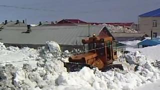 Как Северо-Курильск борется со снегом!