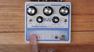 DOD Rubberneck Analog Delay Demo