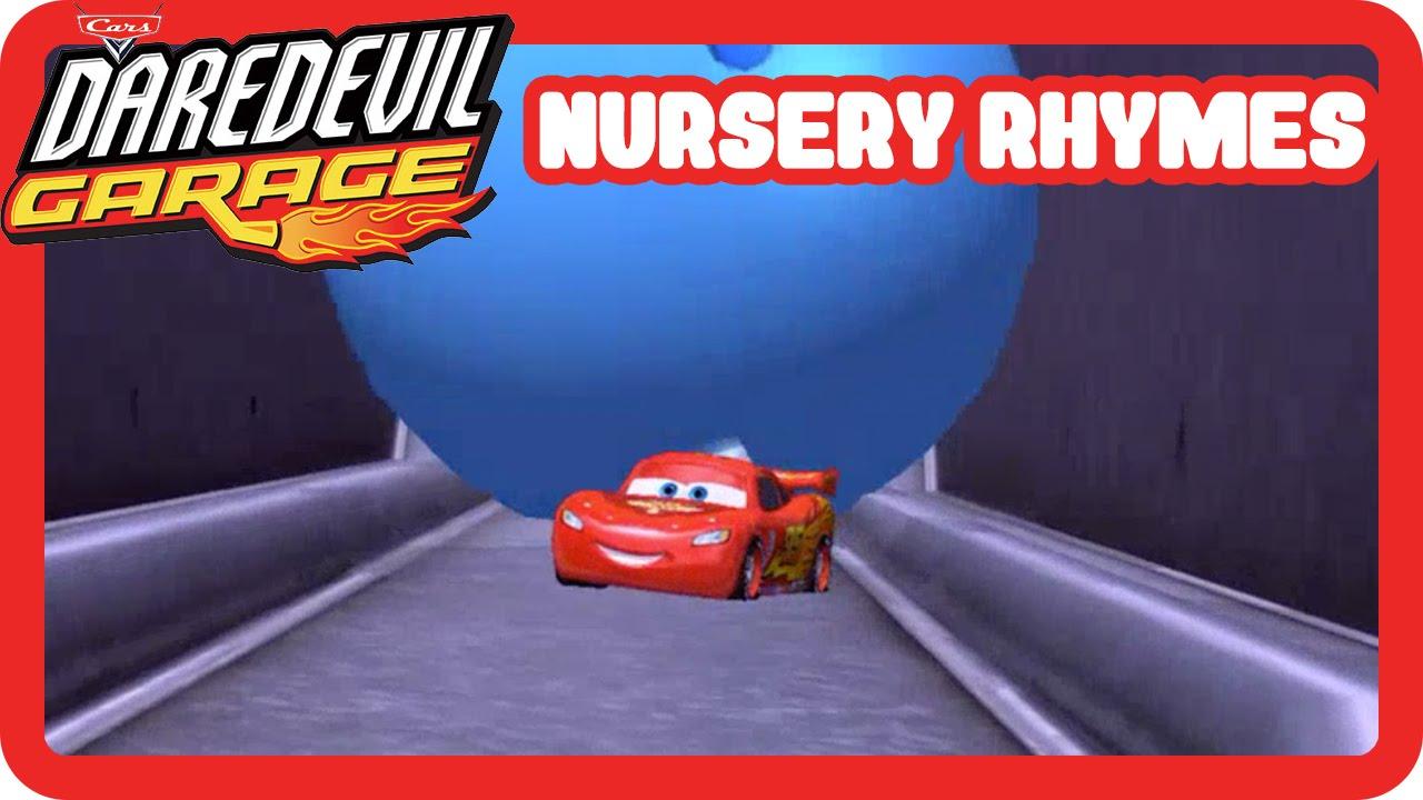 Disney Pixar Cars Daredevil Garage Lightning Mcqueen