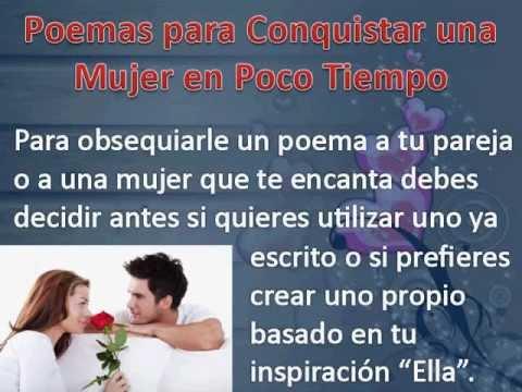 Poemas para Conquistar una Mujer- www.JuegosDeSeduccion ...