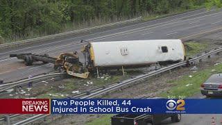 2 Dead In N.J. School Bus Crash