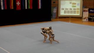 Sachsenpokal 2016   122   010   Women's Group   Junior 2   Balance   GER   Oldenburger Turnerbund GE