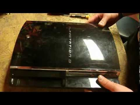 Playstation 3 fat how to open tutorial. PS3 teardown guide