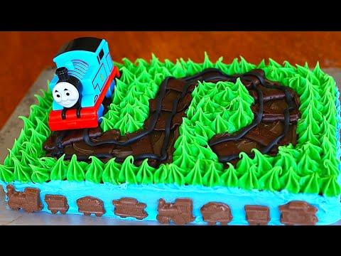 Thomas The Train Cake Tutorial Youtube