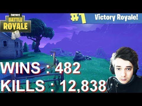 [FR/PC/LIVE] Fortnite en solo 482 wins!