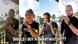 Should I buy A Smartwatch: Apple, Samsung, Fossil Kornaby???