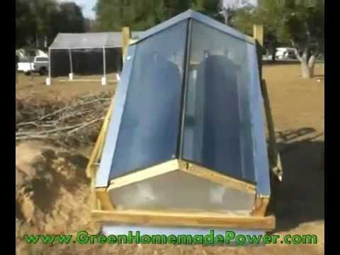 & DIY Solar Water Heater - Central Florida - YouTube