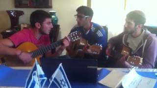 azi akiva ayden playing wish you were here