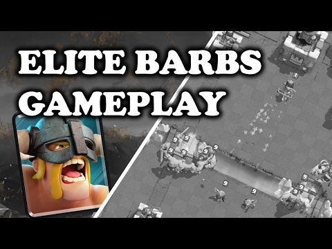Clash Royale | Elite Barbarians Gameplay | Are Barbarians Better?