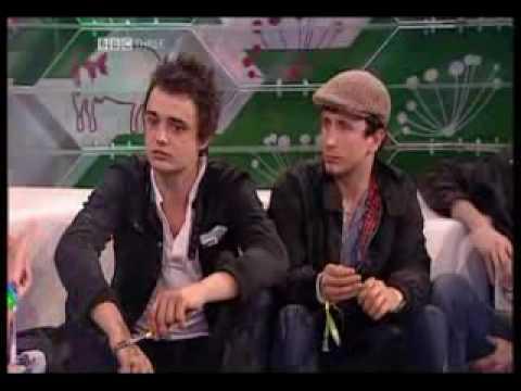 Babyshambles Interview Glastonbury