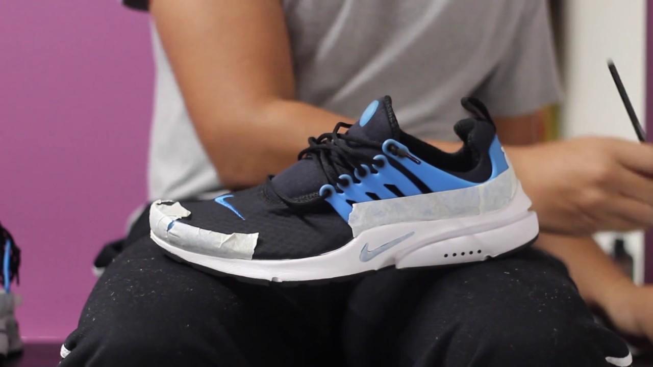 Custom Nike Air Prestos - YouTube