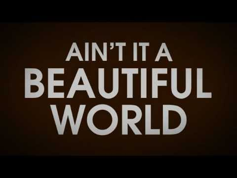 "Lyric Video For ""Beautiful World"" By Bon Jovi"