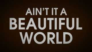 Lyric video for Beautiful World by Bon Jovi YouTube Videos