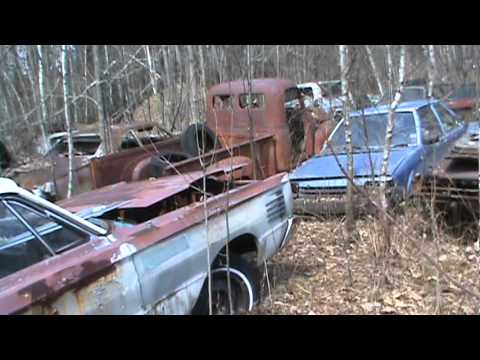 Private Junk Yard In Maine Part 3 Youtube