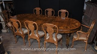 Dining Set Queen Anne And Victorian Table