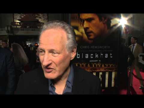 Blackhat: Director Michael Mann Red Carpet Movie Premiere Interview