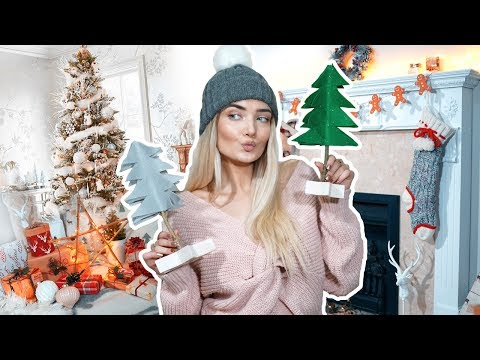 EASY DIY CHRISTMAS DECORATIONS! DIY WINTER ROOM DECOR!