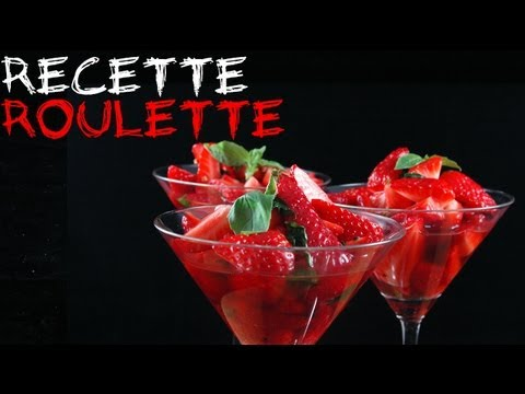 Recette : Soupe de fraises
