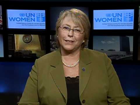 IWD Message from UN Women Under-Secretary-General Michelle Bachelet