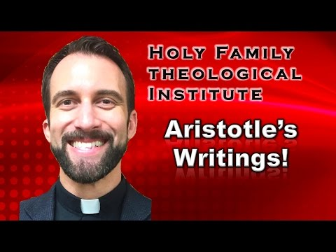 """Aristotle's Writings"" – Ancient Philosophy, Video 21"