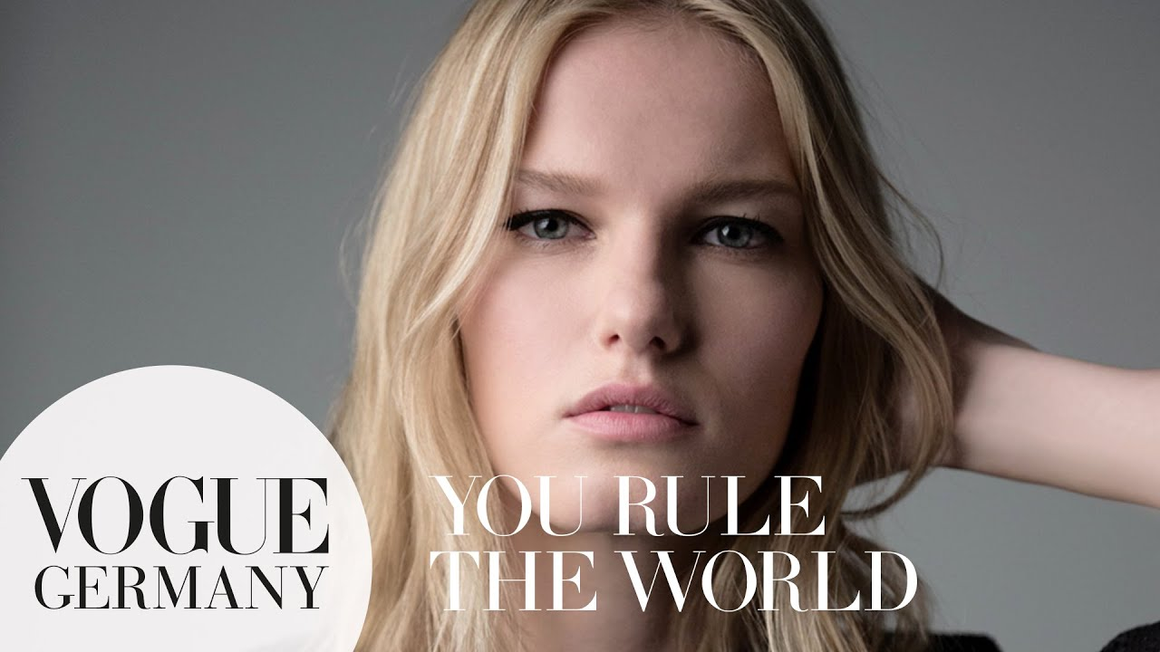 You rule the world! – A Message for you by Marique Schimmel for VOGUE