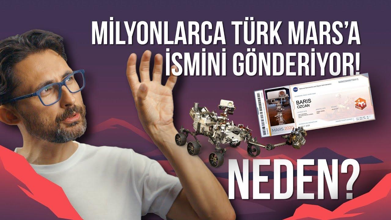 Milyonlarca Türk Mars'a neden ismini gönderiyor?