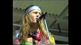 Kingston Wall 1990 Live @ Kaivopuisto cam1