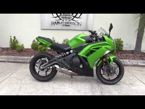 2012 kawasaki ninja 650 for sale in tampa as seen on craigslist youtube. Black Bedroom Furniture Sets. Home Design Ideas