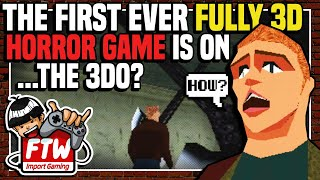 Doctor Hauzer (3DO) - FIRST FULLY 3D HORROR GAME - Import Gaming FTW! Ep. 36