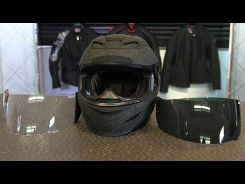 How To Change The Icon Airmada Helmet Shield Motorcycle