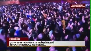 Erzurum Winterfest 2015 -  İbrahim Erkal Konseri