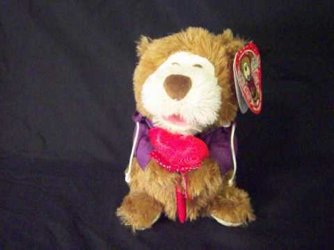 singing valentines bear
