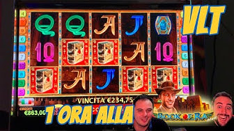 "VLT🎰 - Partita di 1 ora alla ""BOOK OF RA DELUXE"""