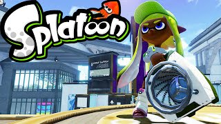 Splatoon Wii U Gameplay LIVE! Sloshing Machine NEW Slosher Weapon Rainmaker 2.3 Stream Online HD