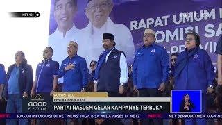 Good Election: Partai Nasdem dan Partai Demokrat Gelar Kampanye Terbuka