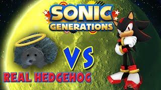 Real Hedgehog Vs Shadow - Sonic Generations Mod 1080p